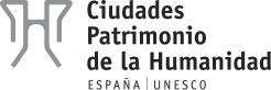 Ciudades Patrimonio de la Humanidad. España Logo