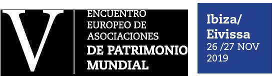 V ENCUENTRO PATRIMONIO MUNDIAL Logo